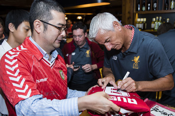 Ian Rush Liverpool FC Supporters Club Legends Appearance