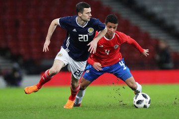 Ian Smith Scotland Vs. Costa Rica - International Friendly