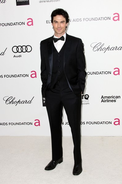Ian Somerhalder - 20th Annual Elton John AIDS Foundation's Oscar Viewing Party - Arrivals
