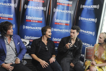 Ian Somerhalder SiriusXM's Entertainment Weekly Radio Channel Broadcasts from Comic-Con 2015