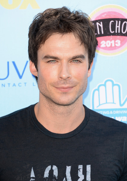 Ian Somerhalder - Teen Choice Awards 2013 - Arrivals