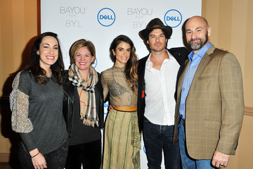 Ian Somerhalder Actress Nikki Reed and Dell Announce Jewelry Line Made From Recycled Tech at CES