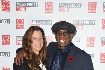 Ian Wright Celebrities Rock Up To School Of Rock Preview To Support Miles Frost Fund