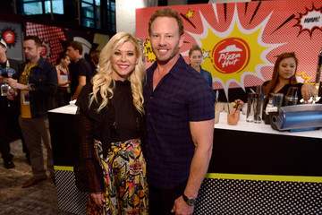 Ian Ziering Tara Reid Pizza Hut Lounge at 2018 Comic-Con International: San Diego