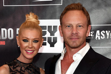 Ian Ziering Tara Reid 'Sharknado 5: Global Swarming' Premiere at the LINQ Hotel & Casino