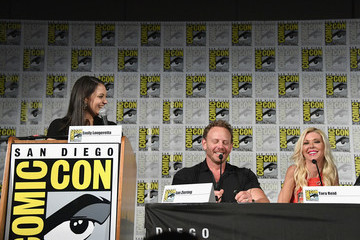 Ian Ziering Tara Reid Comic-Con International 2018 - 'The Last Sharknado: Its About Time' Panel