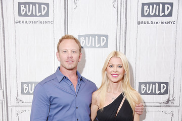 Ian Ziering Tara Reid Build Presents Ian Ziering and Tara Reid Discussing the Film 'Sharknado 5: Global Swarming'