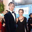 Ansel Elgort and Violetta Komyshan Photos