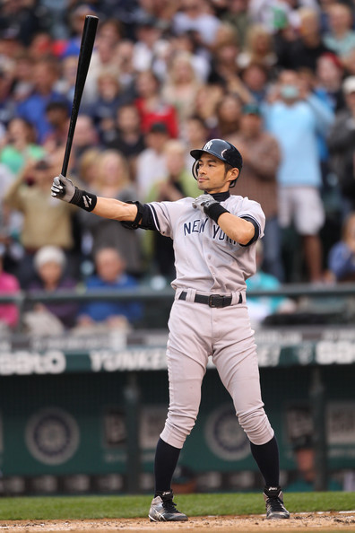 Images of Ichiro Suzuki Batting Stance Yankees - #SpaceHero