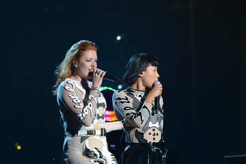 Icona Pop Miley Cyrus In Concert - Brooklyn, NY