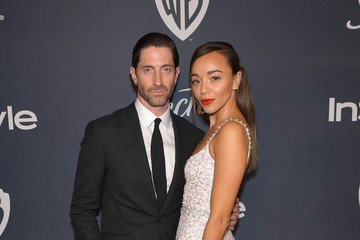 Iddo Goldberg Ashley Madekwe The 2020 InStyle And Warner Bros. 77th Annual Golden Globe Awards Post-Party - Red Carpet
