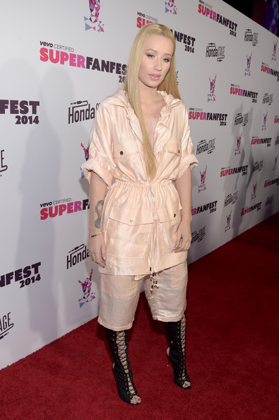 Iggy Azalea - Arrivals at the SuperFanFest Show