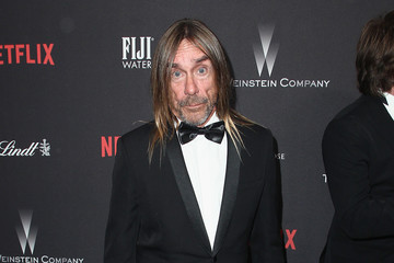 Iggy Pop The Weinstein Company and Netflix Golden Globe Party, Presented With FIJI Water, Grey Goose Vodka, Lindt Chocolate, and Moroccanoil - Red Carpet