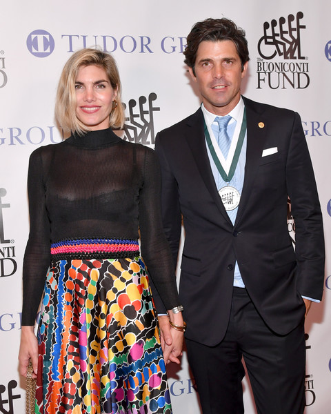 33th Annual Great Sports Legends Dinner To Benefit The Buoniconti Fund To Cure Paralysis - Arrivals [great sports legends dinner to benefit the buoniconti fund to cure paralysis,fashion,event,suit,carpet,fashion design,formal wear,premiere,arrivals,honoree ignacio ``nacho figueras,millions,delfina blaquier,figueras,midtown,new york city,the new york,annual great sports legends dinner]