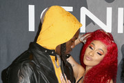 Offset and Cardi B attend Ignite Angels and Devils Pre-Valentine's Day Party on February 13, 2019 in Bel Air, California.