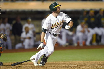 Ike Davis Houston Astros v Oakland Athletics