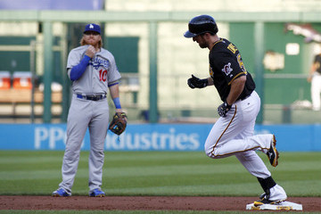 Ike Davis Los Angeles Dodgers v Pittsburgh Pirates