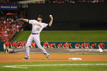 Ike Davis Pittsburgh Pirates v St Louis Cardinals