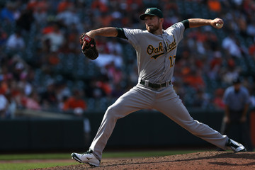 Ike Davis Oakland Athletics v Baltimore Orioles
