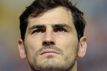 Iker Casillas Spain v Ukraine - EURO 2016 Qualifier