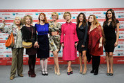 "(L-R) Gisella Sofio, Sydne Rome, Rita Carlini, Manuela Morabito, Stefania Barca, Micaela Ramazzotti,  Sara Pastore and Isabelle Adriani attend the ""Il Cuore Grande Delle Ragazze"" Photocall during the 6th International Rome Film Festival on November 1, 2011 in Rome, Italy."