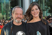 """Director Terry Gilliam (L) and his daughter, producer Amy Gilliam, attend the """"The Imaginarium of Doctor Parnassus"""" premiere held at Roy Thomson Hall during the 2009 Toronto International Film Festival on September 18, 2009 in Toronto, Canada."""