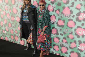 Iman Bethann Hardison KENZO x H&M Launch Event Directed by Jean-Paul Goude' - Arrivals