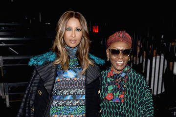 Iman Bethann Hardison KENZO x H&M Launch Event Directed by Jean-Paul Goude' - Front Row