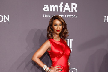 Iman Harry Winston Serves as Presenting Sponsor for the amfAR New York Gala