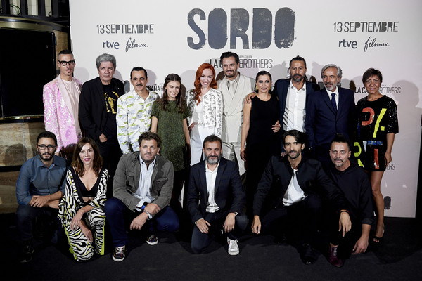 'Sordo' Madrid Premiere [sordo madrid premiere,cinema,social group,event,team,performance,cast,crew,sordo,capitol,madrid,spain,premiere]