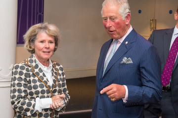 Imelda Staunton The Prince Of Wales Visits The Old Vic Theatre