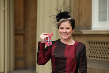 Imelda Staunton Investitures At Buckingham Palace