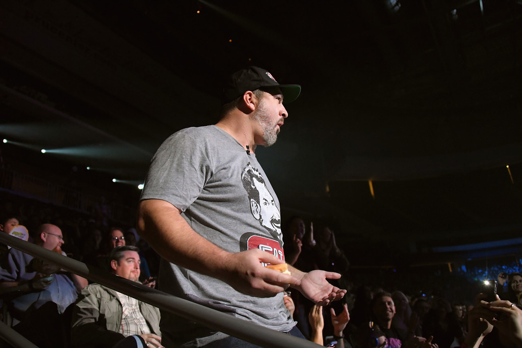 Joey fatone pictures impractical jokers live nitro circus spectacular