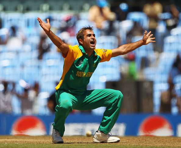Imran Tahir - England v South Africa: Group B - 2011 ICC World Cup