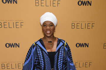India.Arie Guests Attend the 'Belief' New York Premiere