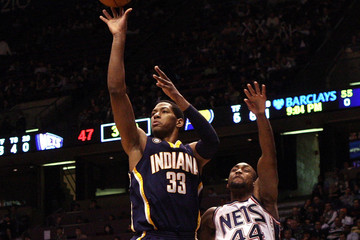 Trenton Hassell Indiana Pacers v New Jersey Nets