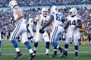 Dwayne Allen and Andrew Luck Photos Photo