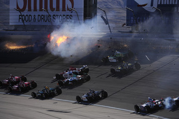 Dan Wheldon IndyCar Driver Dan Wheldon Dies In Fatal Crash - Sequence