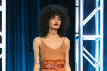 Indya Moore 2018 Winter TCA Tour - Day 2