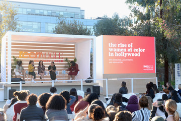 Indya Moore Anna Cathcart The Teen Vogue Summit Los Angeles 2018 - On Stage Conversations And Atmosphere