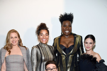 Indya Moore Christian Siriano Fall Winter 2020 NYFW - Front Row