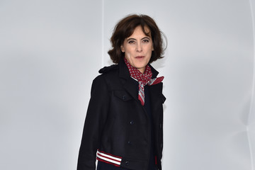 Ines de la Fressange Chanel : Front Row  - Paris Fashion Week Womenswear Fall/Winter 2017/2018