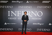 Irrfan Khan walks the red carpet at 'Inferno' premiere at Opera Di Firenze on October 8, 2016 in Florence, Italy.