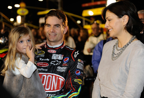 jeff gordon wife ingrid. In This Photo: Jeff Gordon,