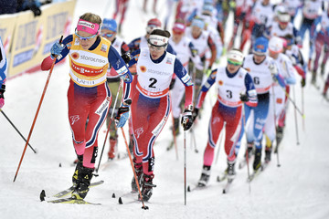 Ingvild Flugstad Oestberg FIS Nordic World Cup - Men's and Women's Cross Country Skiathlon