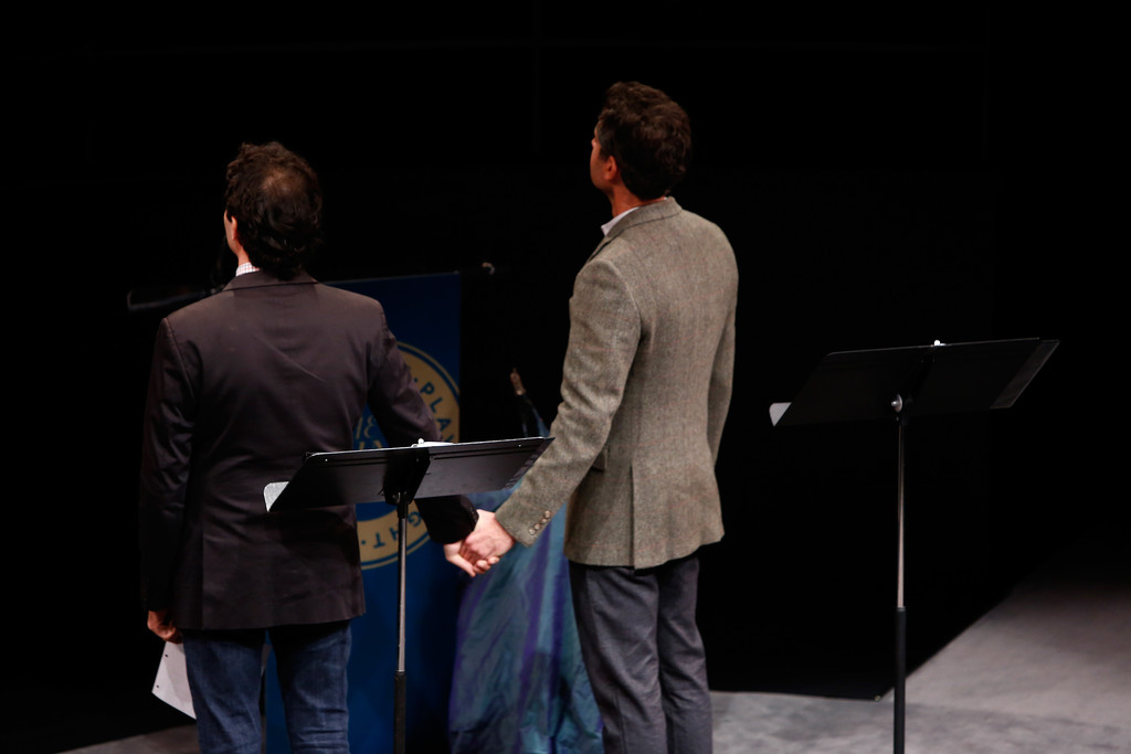 Arian Moayed in Inside the Steinberg Playwright 'Mimi ...
