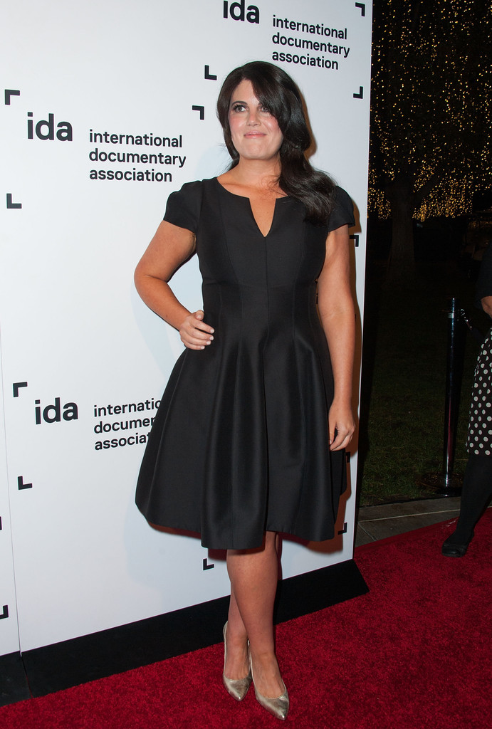 the 10th annual meaningless task award candidate monika lewinsky