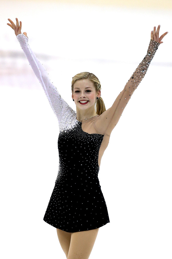 Gracie Gold Photos Photos - U.S. International Figure ...Gracie Gold Dress