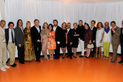 Christian Louboutin and Suzy Menkes Photos Photo