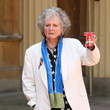 Maggi Hambling Investitures Held At Buckingham Palace